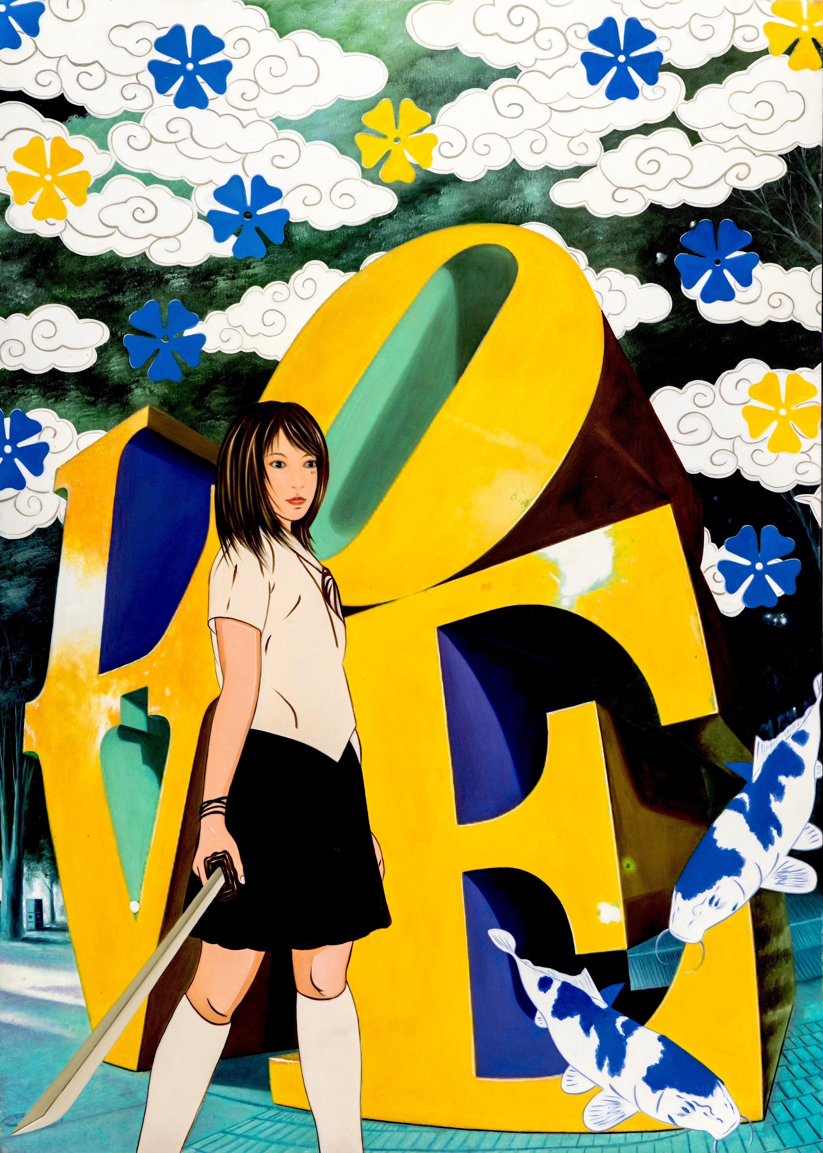 YELLOW & BLU LOVE – web