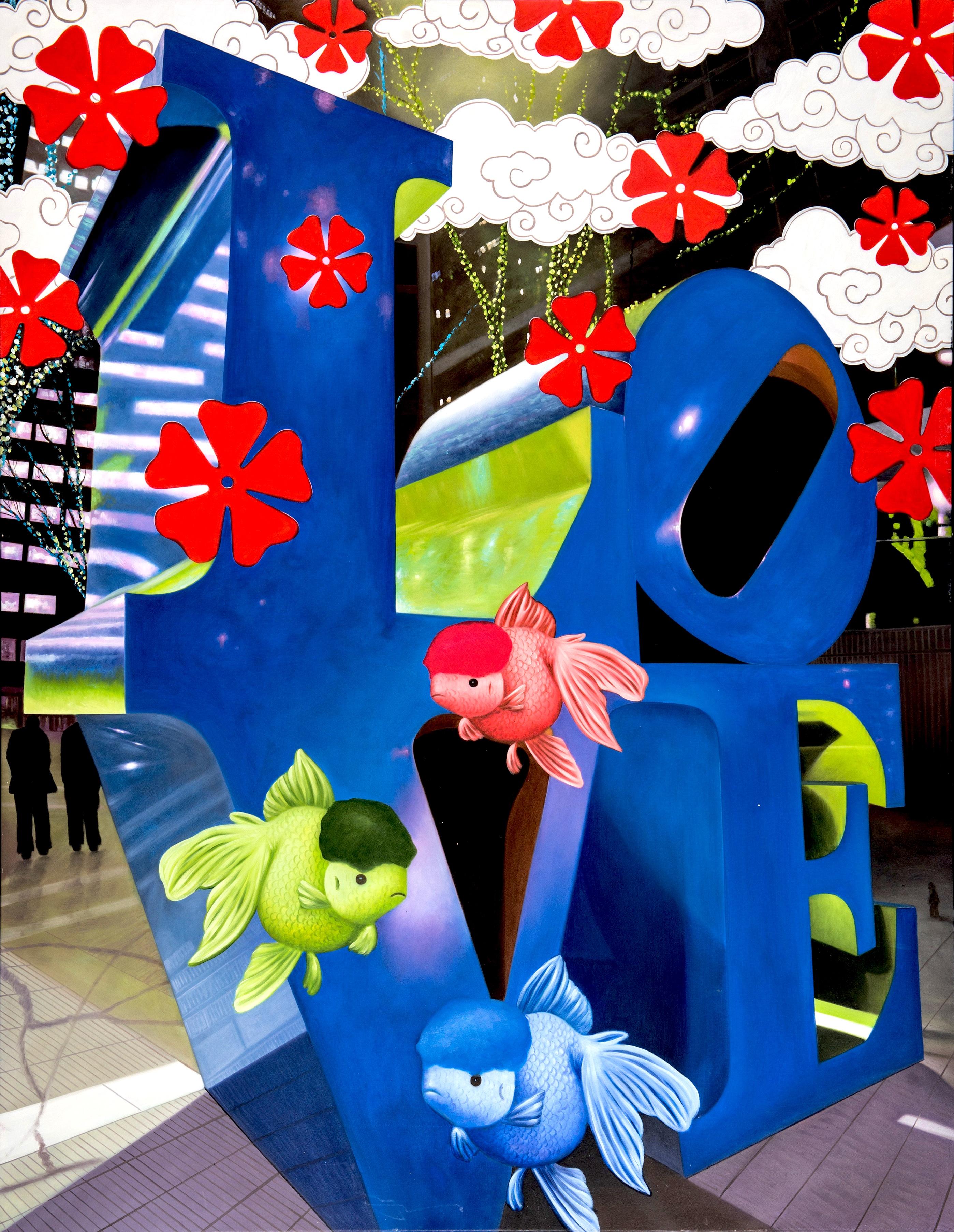 blu love & green – web